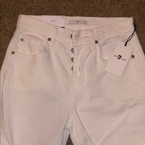 7 For All Mankind High Waist Josefina